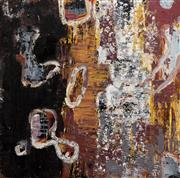 Sale 8316 - Lot 566 - Liz Cuming (1956 - ) - Abstract 122 x 122cm