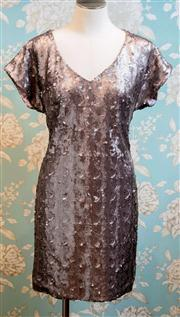 Sale 8577 - Lot 158 - A Wayne Cooper metallic sequinned party dress, new with tags (RRP$469), size 1