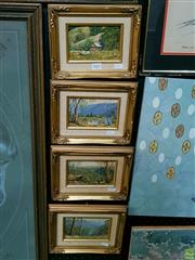 Sale 8582 - Lot 2002 - Artist Unknown (Set 4), Oil Paintings