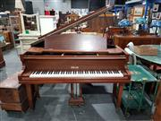 Sale 8760 - Lot 1035 - Schwander Baby Grand Piano