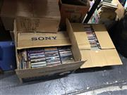 Sale 8797 - Lot 2505 - 2 Boxes of CDs