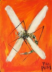 Sale 8947 - Lot 546 - Kevin Charles (Pro) Hart (1928 - 2006) - Dragonfly 30 x 20 cm (frame: 61 x 53 x 2 cm)