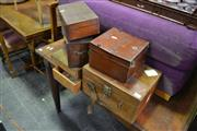 Sale 8087 - Lot 1076 - Collection of Vintage Boxes inc Fishing, Meter etc