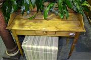 Sale 7987A - Lot 1067 - Pine Washstand w Drawer