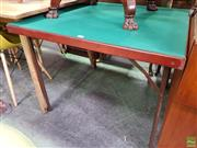 Sale 8570 - Lot 1087 - Fold Out Games Table