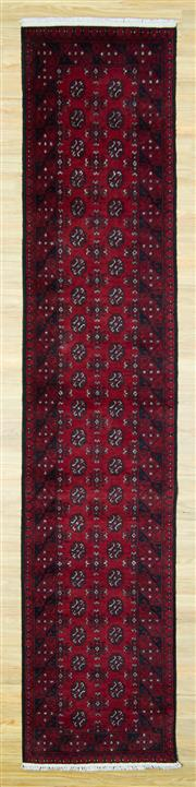 Sale 8601C - Lot 81 - Afghan Turkman Runner 380x82