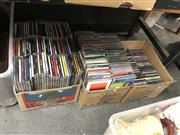 Sale 8797 - Lot 2523 - 3 Boxes of CDs