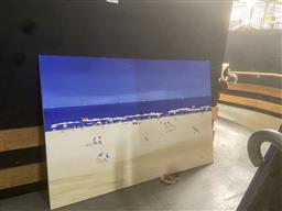 Sale 9101 - Lot 2090 - Blumberg You Beaut Summer Beach Scene acrylic on canvas (AF) 120 x 180cm signed lower right -