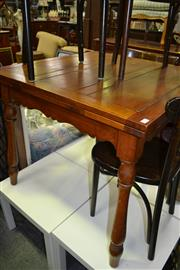 Sale 8093 - Lot 1105 - Timber Extension Dining Table
