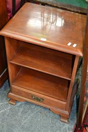 Sale 8115 - Lot 1130 - Timber Bedside w Single Drawer & Another