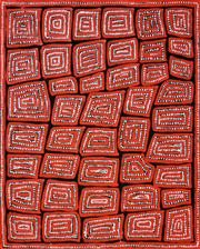 Sale 8259 - Lot 520 - Thomas Tjapaltjarri (c.1964 - ) - Tingari 95 x 80cm