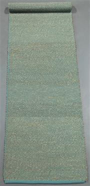 Sale 8438K - Lot 116 - Caribbean Woven Seagrass Runner | 400x75cm, Seagrass Pile & Strong Cotton Binding, Hand-woven in Jaipur, Rajasthan. Hand woven by sk...