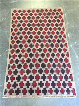 Sale 9126 - Lot 1241 - Persian hand knotted Baluchi ( 145 x 85cm)