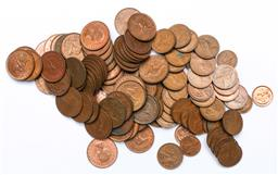 Sale 9144 - Lot 128 - A large collection of copper coins incl pennies