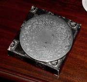 Sale 8107B - Lot 47 - A set of 8 Strachan silver plate place mats