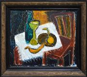 Sale 8286 - Lot 598 - Guelda Pyke (1905 - 1994) - Still Life, c1950 37 x 44.5cm