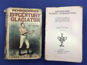 Sale 8450S - Lot 755 - Sullivans Memoirs - a fair copy of Reminiscences of a 19th Century Gladiator by John L Sullivan (Routledge 1892); t/w Fights Forgott...