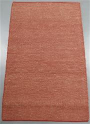 Sale 8438K - Lot 117 - Tuscan Red Woven Seagrass Rug | 250x150cm, Seagrass Pile & Strong Cotton Binding, Hand-woven in Jaipur, Rajasthan. Hand woven by ski...