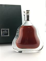 Sale 8571 - Lot 754A - 1x Hennessy 'Richard Hennessy' Cognac - Baccarat crystal decanter with stopper in presentation box