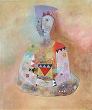 Sale 8892A - Lot 5074 - Kerryl Shirley - Woman Philosopher 119 x 99 cm