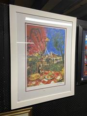 Sale 8936 - Lot 2084 - Marc Chagall Decorative Print, 105 x 82cm (gallery frame)