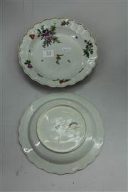 Sale 8151 - Lot 53 - Chelsea Pair of Dishes with Christies Stickers
