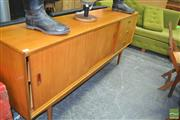 Sale 8275 - Lot 1089 - Charles Dufficey Raised Two Door Sideboard