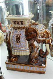 Sale 8327 - Lot 35 - Chinese Elephant Plant Stand