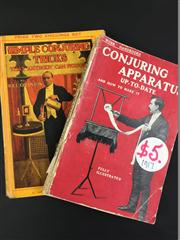 Sale 8539M - Lot 196 - 2 Vols., Simple Conjuring Tricks by Will Goldston, 1922, & Conjuring Apparatus Up-to-date and How to Make it. London: Cassell, 1...