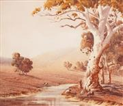 Sale 8583A - Lot 5015 - Victor Robert Watt (1886 - 1970) - Near Cowra 25 x 29cm