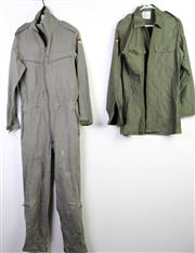 Sale 8952M - Lot 626 - A Collection Of Various Uniforms, Mostly Camouflage Also Includes A German Jumpsuit