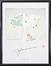 Sale 8203A - Lot 64 - John Lennon (1940 - 1980) - A Family Tree 64 x 49cm
