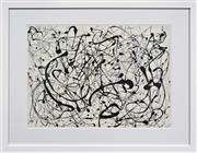 Sale 8257A - Lot 92 - Jackson Pollock (1912 - 1956) After. - No. 14 52 x 71cm (frame 82 x 104cm)