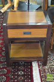 Sale 8326 - Lot 1406 - Timber Bedside With Single Drawer