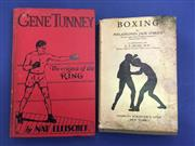 Sale 8419A - Lot 21 - Gene Tunney - a first edition of his biography by Nat Fleischer (The Ring 1931); t/w Boxing by Jack OBrien (Scribners 1928)