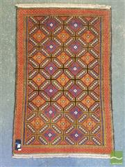 Sale 8532 - Lot 1207 - Persian Hand Knotted Woollen Rug (127 x 85cm)