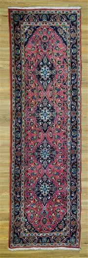 Sale 8601C - Lot 85 - Persian Kashan Runner 320x97