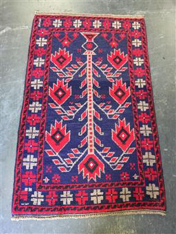 Sale 9126 - Lot 1230 - Persian hand knotted Baluchi ( 145 x 85cm)