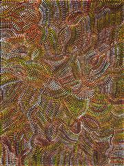Sale 8259 - Lot 511 - Joy Maxwell Nampitjinpa (c.1960 - ) - Womens Dreaming 95 x 70cm
