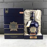 Sale 8970 - Lot 656 - 1x Chivas Brothers Royal Salute - The Hundred Cask Selection Blended Scotch Whisky - limited release no.4, bottle no. 12769/29878,...