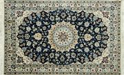Sale 8256B - Lot 72 - Persian Nain 184cm x 113cm RRP $1200
