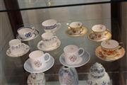 Sale 8047 - Lot 75 - Group of Assorted Tea/ Coffee Cups & Saucers incl.Worcester, Susie Cooper, Wedgewood & Others