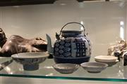 Sale 8189 - Lot 196 - Chinese Blue & White Teapot with Others (AF)