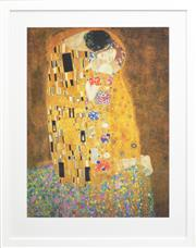 Sale 8257A - Lot 14 - Gustav Klimt (1862 – 1918) - The Kiss 79 x 59cm (frame size 102 x 88cm)