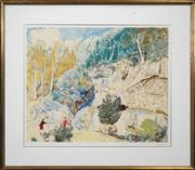 Sale 8434A - Lot 5015 - Lloyd Rees (1895 - 1988) - Edge of the Forest 64 x 74.5cm
