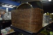 Sale 8530 - Lot 2190 - Collection of Wicker Wares, including Large Basket, Dishes & a Bag