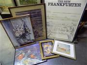 Sale 8563T - Lot 2038 - An Assortment of (6) Framed Decorative Prints incl. Monet (framed/various sizes)