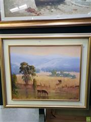 Sale 8645 - Lot 2038 - Marcia Rea - Gloucester oil on canvas, 86 x 101cm, signed lower right