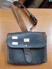 Sale 8872 - Lot 1077 - Early Australia Post Leather Satchel