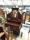 Sale 7919A - Lot 1139 - Dressing Table with Winged Mirrors